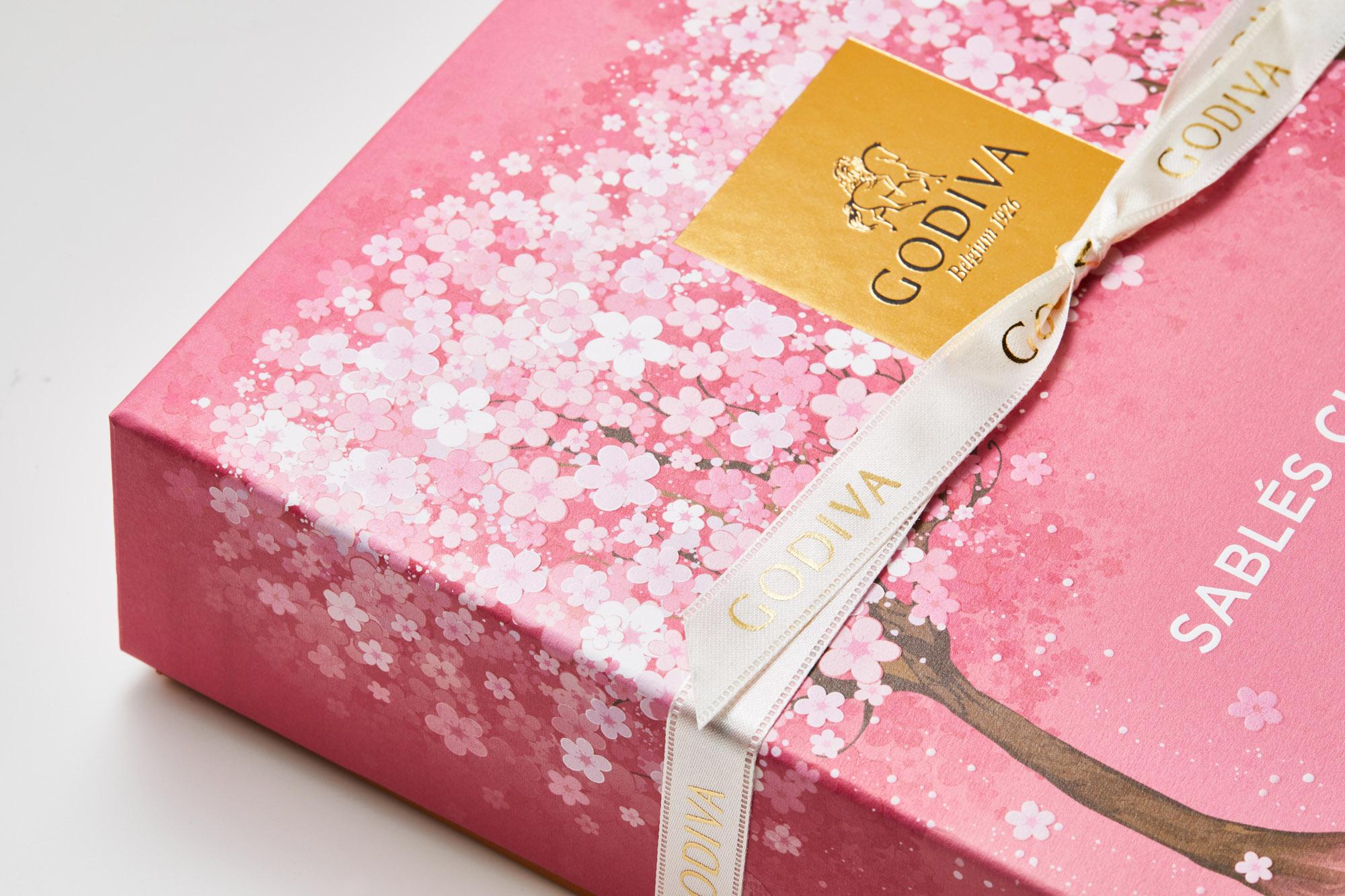 GODIVA ホワイトデー コレクション 2020サブレショコラ 桜 パッケージ